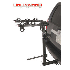 "Hollywood Racks Road Runner 3 Bike Rack for 2"" Hitch with Extended Spare Tire Clearance"