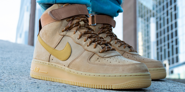 "Nike Air Force 1 High '07 ""Wheat Gum"""