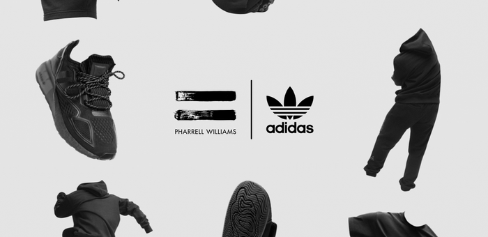 "Adidas x Pharrell Williams ""Black"" Pack"