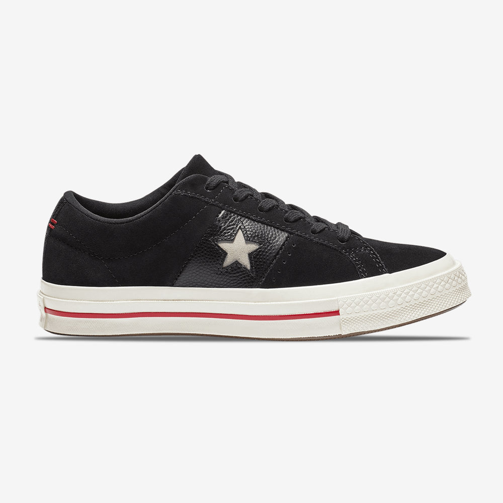 Converse-One Star-Material Block Low Top-163195C