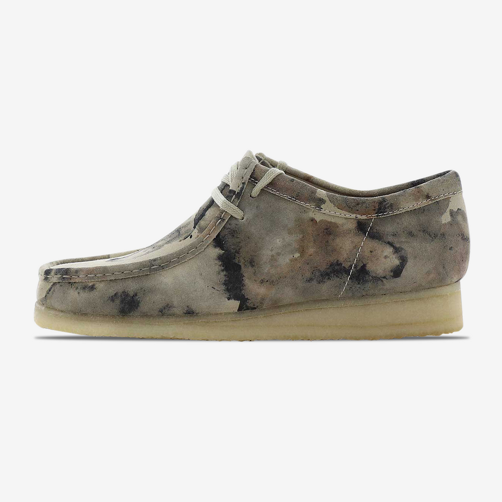 Clarks-Wallabee-Off White Camo-261485907