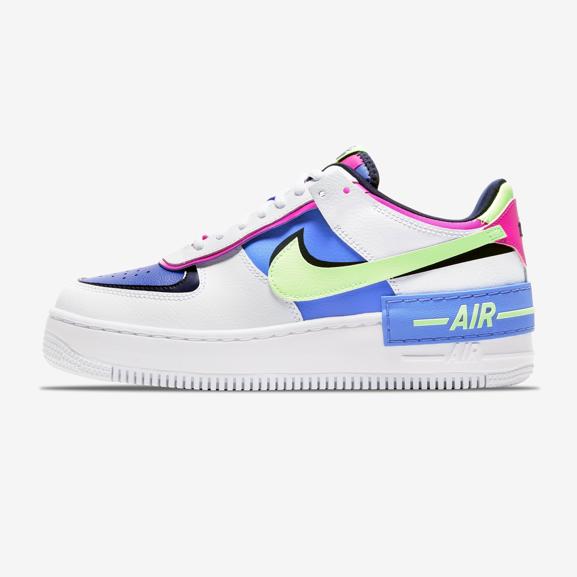 Nike Air Force 1 Shadow Sapphire Cj1641 100 Women Sneakers Sneakerbaas Com White Originally released in '82 under the name 'air force' and designed by one of nike's top designers, bruce kilgore, the sneaker was initially. sneakerbaas