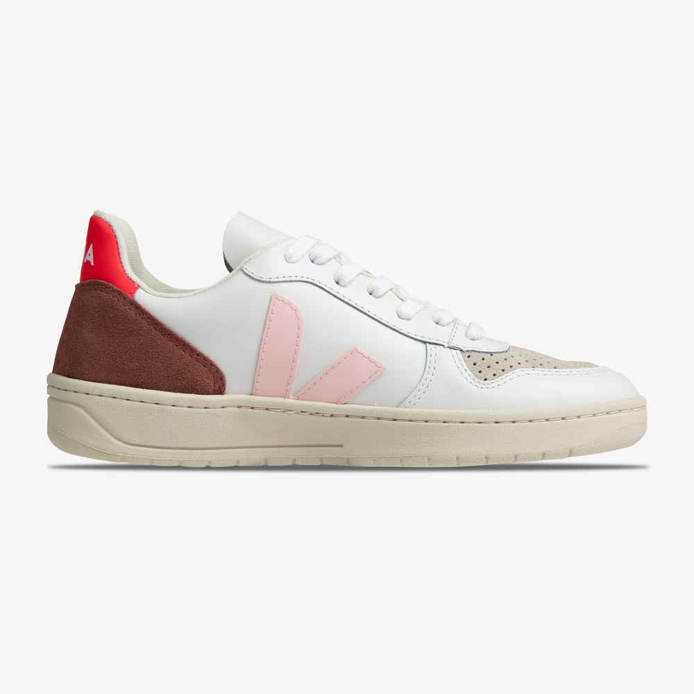 Veja-Women's V-10 Leather-Petal Rose-VX022292A