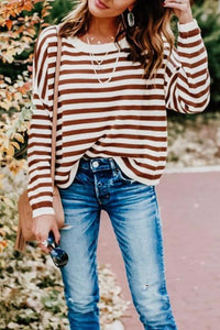 Kilalagril Striped Red Sweater