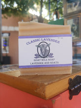 Load image into Gallery viewer, Classic Lavender Goat Milk Soap