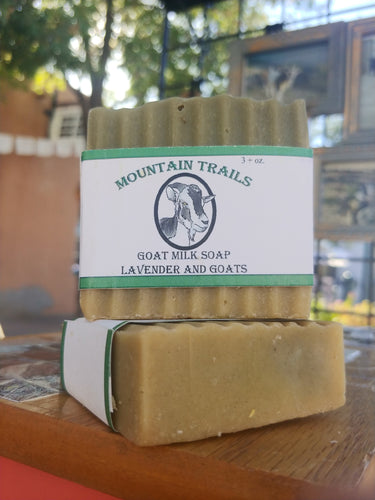 Mountain Trails Goat Milk Soap