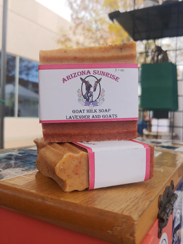 Arizona Sunrise Goat Milk Soap