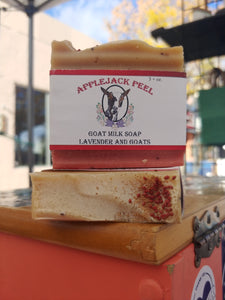 Applejack Peel Goat Milk Soap