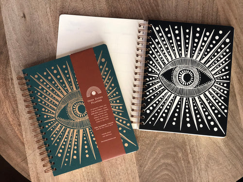 THE RAINBOW VISION:Open-Dated 12 Month Planner