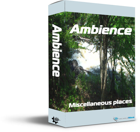 Ambience Pack 01 - Mechanical Wave - Sound Effects Library