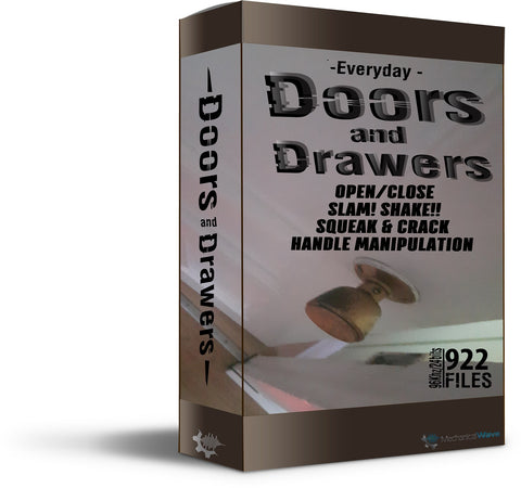 Doors and Drawers - Mechanical Wave - Sound Effects Library