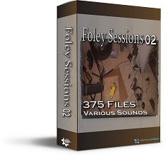Foley Session 02 - Mechanical Wave - Sound Effects Library