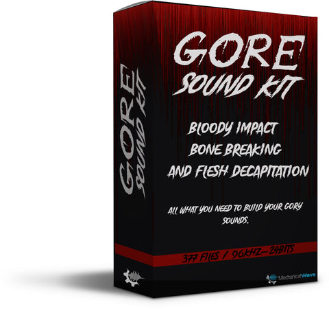 GORE Sound Kit - Mechanical Wave - Sound Effects Library