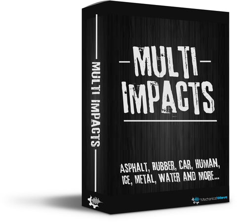 Multi-Impacts - Mechanical Wave - Sound Effects Library