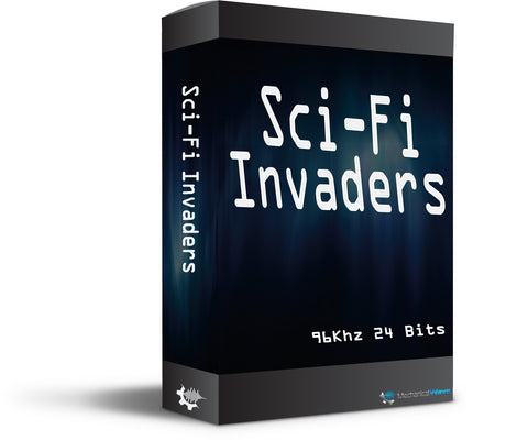 Sci-Fi Invaders - Mechanical Wave - Sound Effects Library