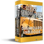 Scrap School Bus - Mechanical Wave - Sound Effects Library