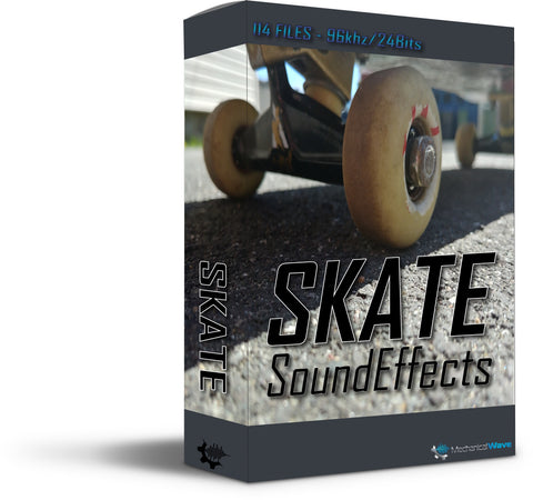 Skate - Mechanical Wave - Sound Effects Library