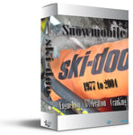 Ski-Doo - Snowmobile - Mechanical Wave - Sound Effects Library
