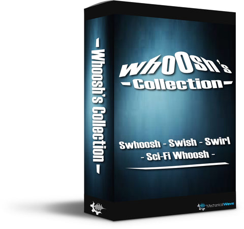 Whooshs Collection - Mechanical Wave - Sound Effects Library