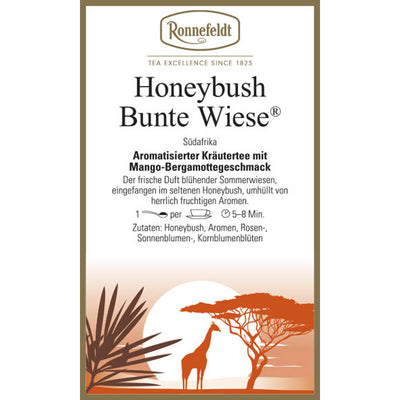 Honeybush Bunte Wiese Etikett