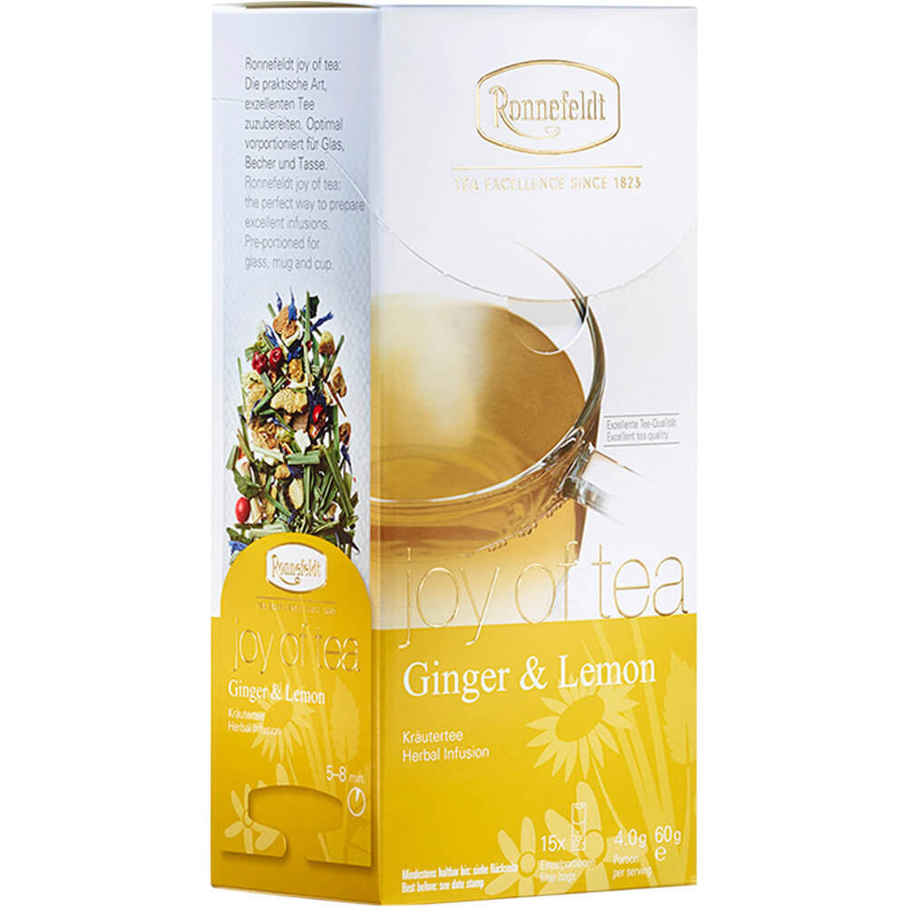 Joy of Tea Ginger & Lemon