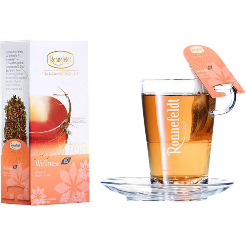 Ronnefeldt Joy of Tea Wellness bio Packung