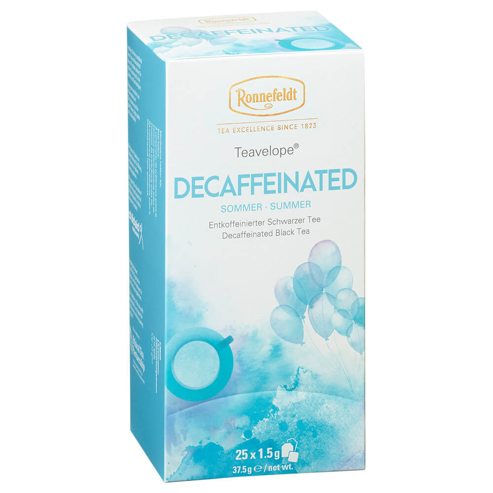 Teebeutel Decaffeinated