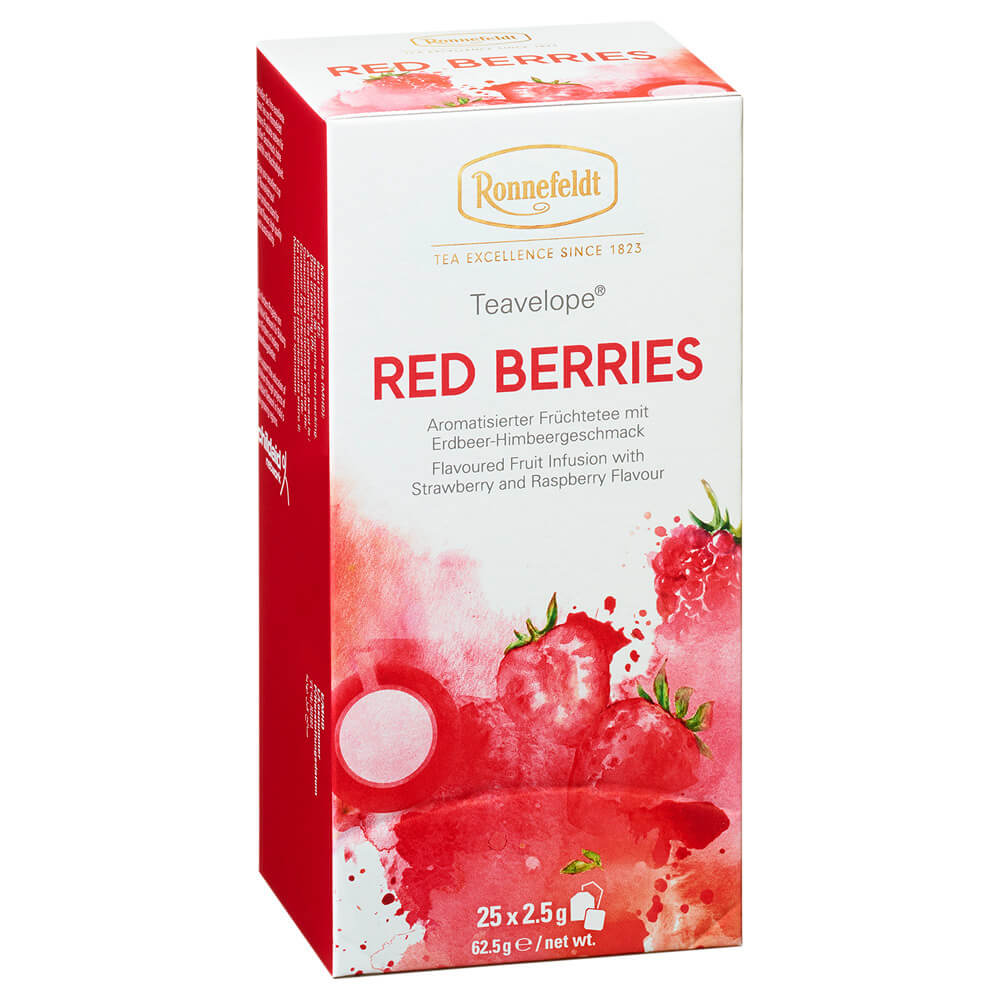 Teebeutel Red Berries