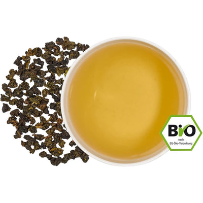 Taiwan Four Seasons Oolong bio Tasse