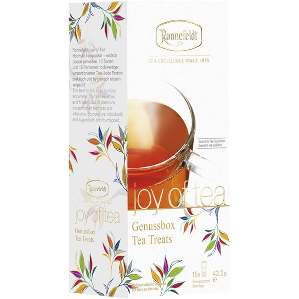 Ronnefeldt Joy of Tea Genussbox Packung