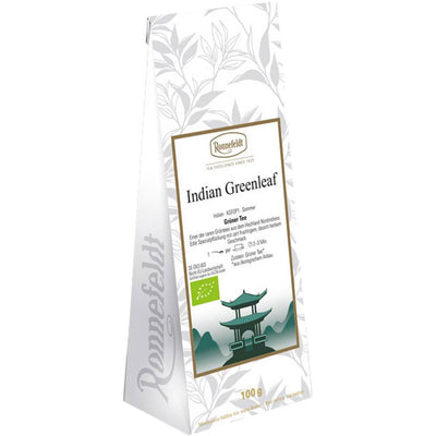 Grüner Tee Indian Greenleaf bio Packung