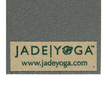 "Load image into Gallery viewer, Fusion Yoga Mat 68"" 8mm Extra Thick - Gray - JadeYoga Singapore"