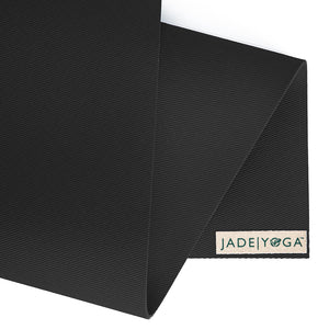 Travel Yoga Mat - Black - JadeYoga Singapore