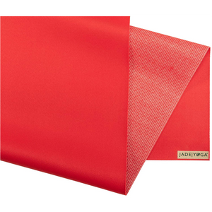 Voyager Yoga Mat - Fire Engine Red - JadeYoga Singapore