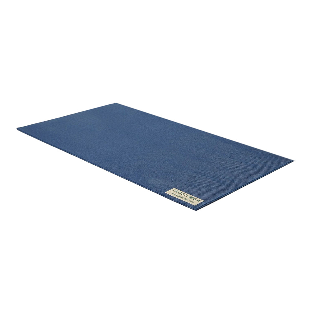 JadeYoga Fusion Mini Yoga Mat - Midnight