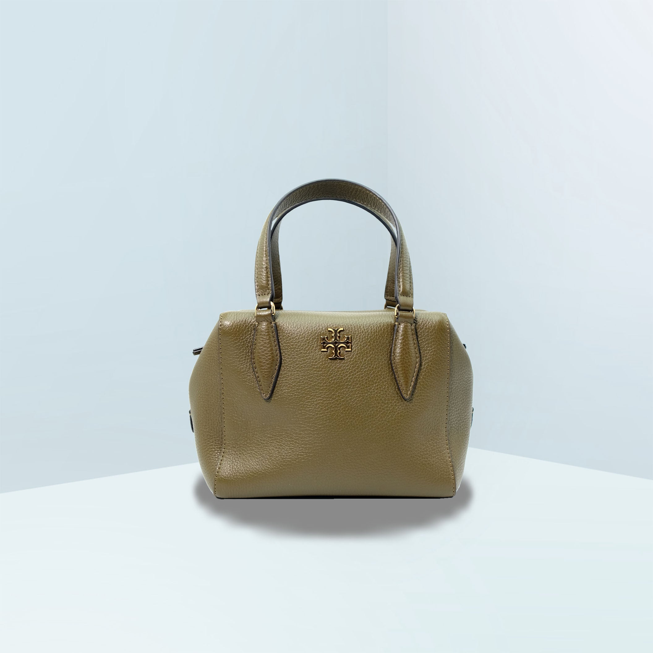 Kira Small Pebbled Satchel Bag