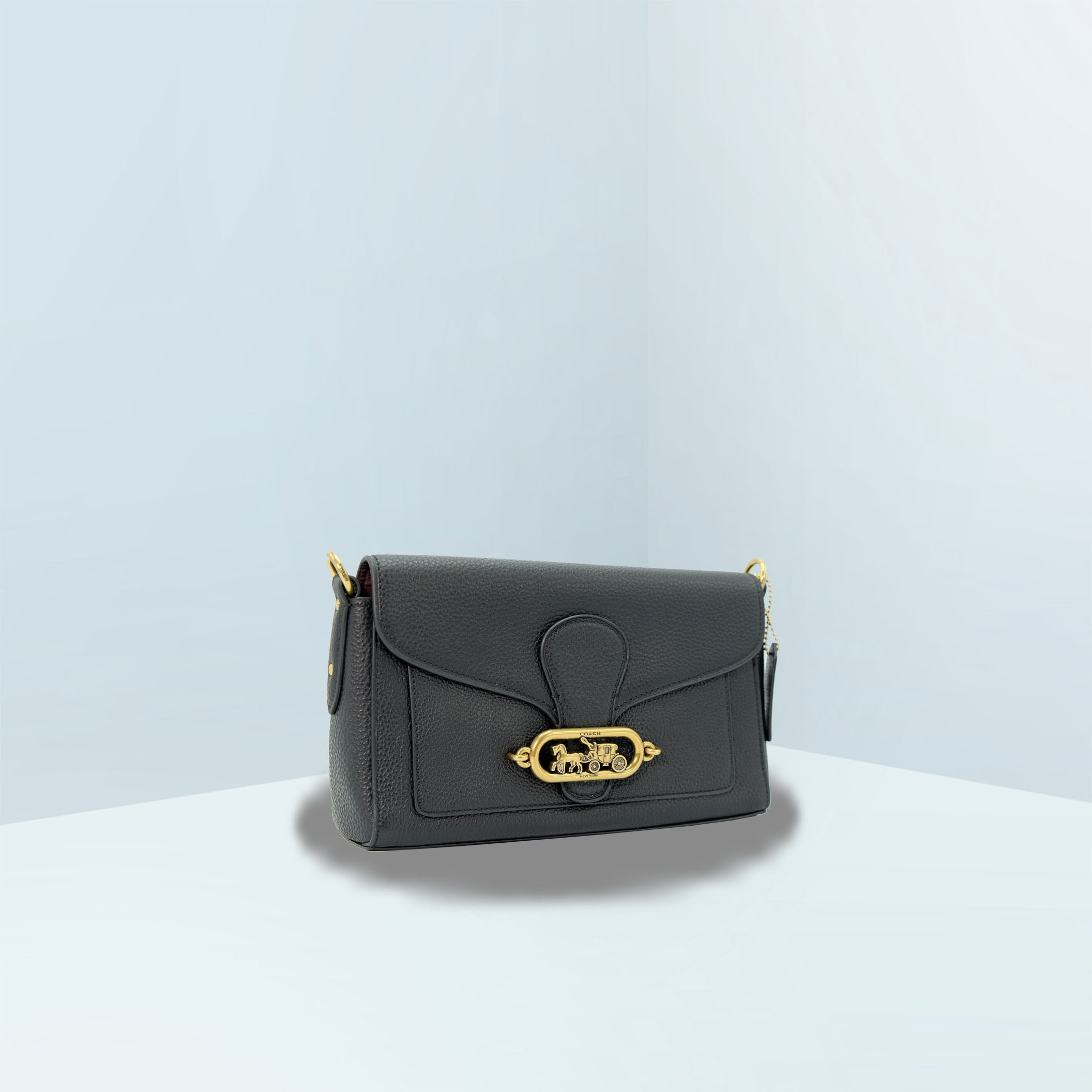 Jade Small Messenger Crossbody Bag