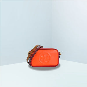 Perry Bombe Double Strap Mini Crossbody Bag
