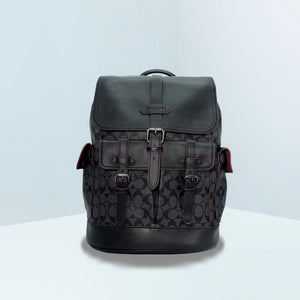 Hudson In Signature Canvas Backpack