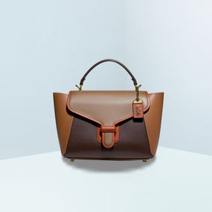 Courier Carryall in Colorblock Satchel Bag