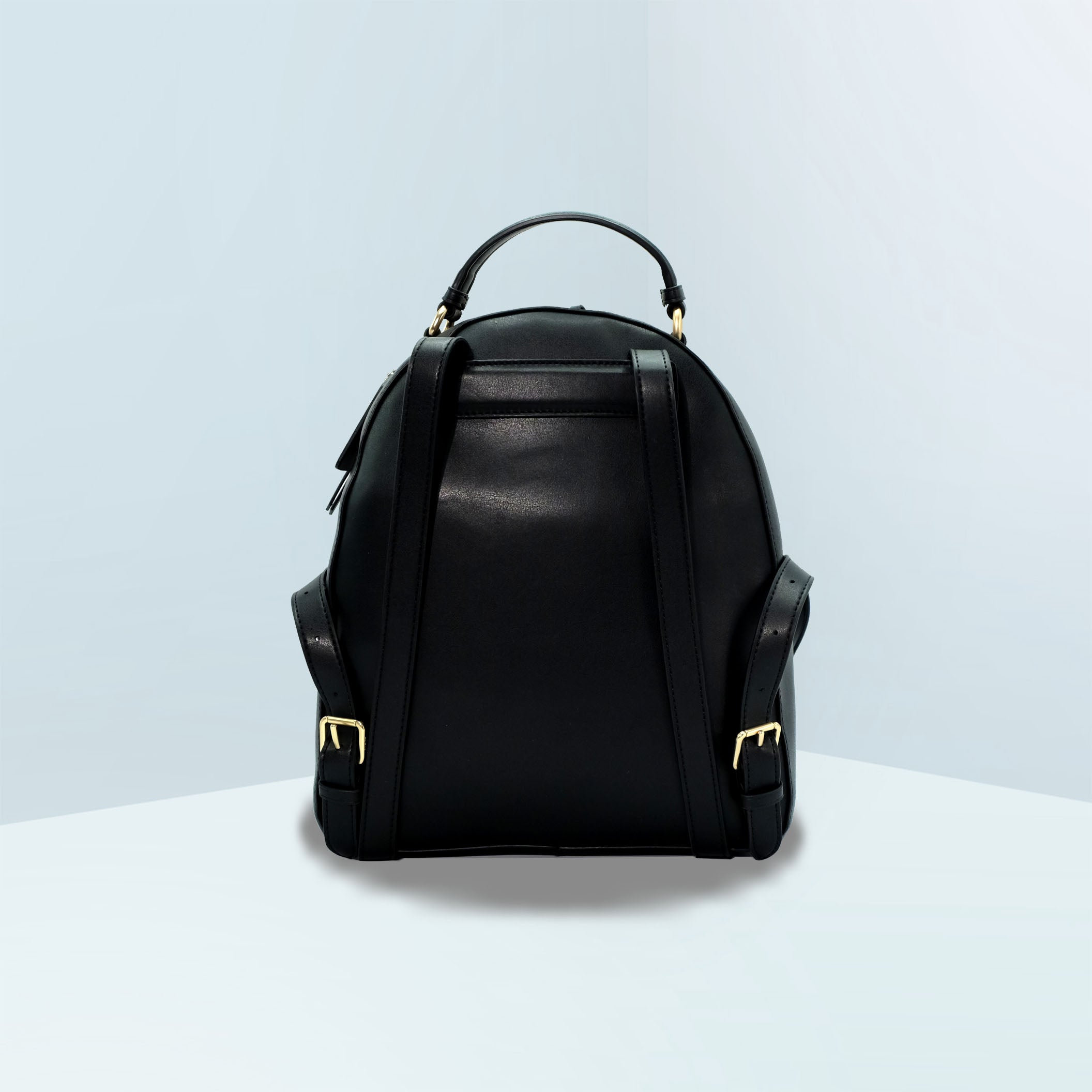 Jordyn Leather Backpack With Rivets