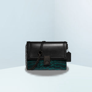 Hutton With Colorblock Snakeskin Crossbody Bag