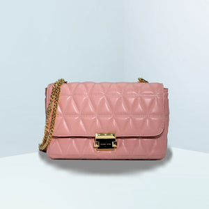 Sloan Large Quilted-Leather Shoulder