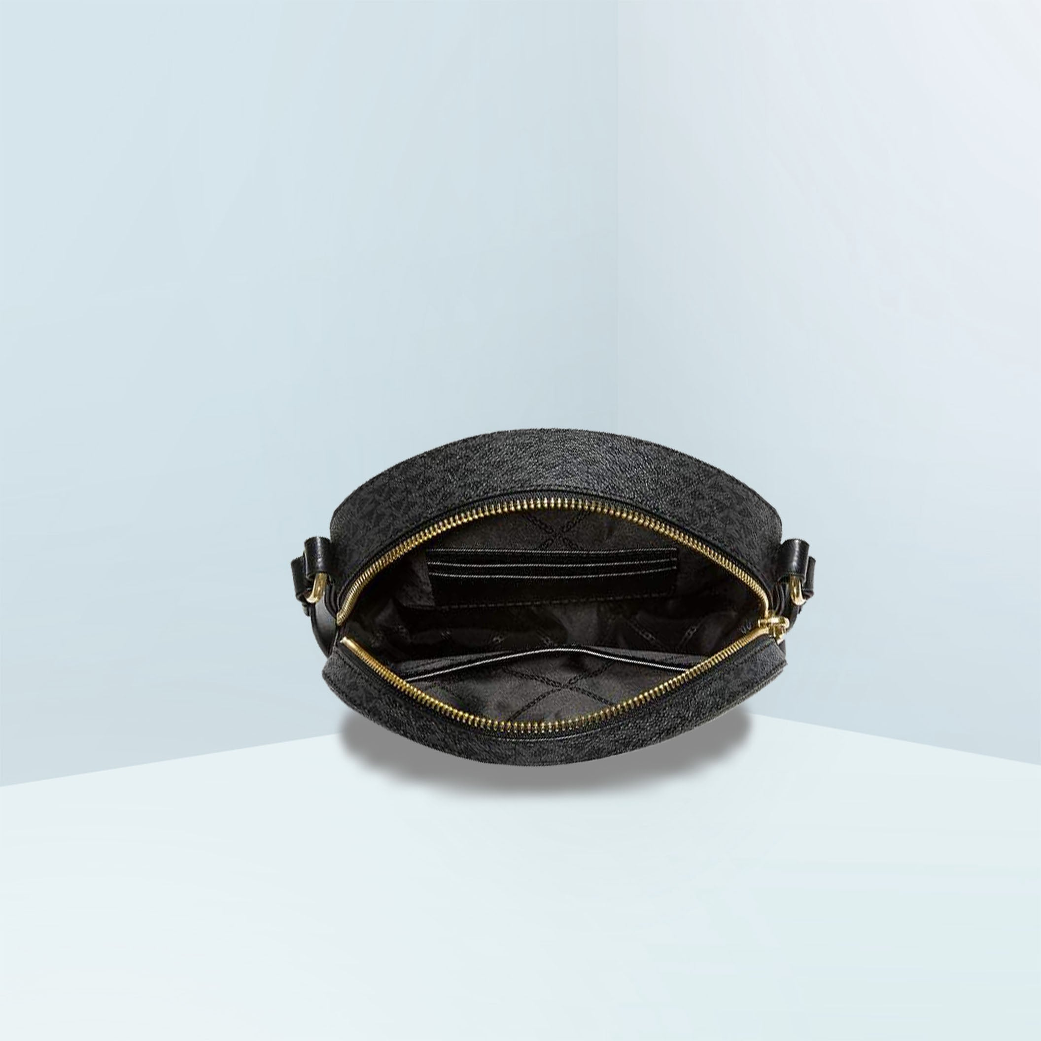 Delancey In Signature Medium Circle Crossbody Bag