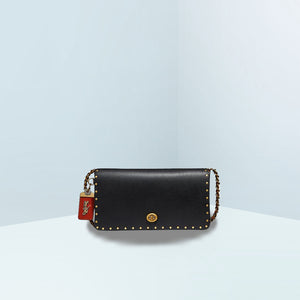 Dinky With Colorblock Snakeskin Crossbody Bag