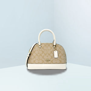 Mini Sierra In Signature Canvas Satchel Bag