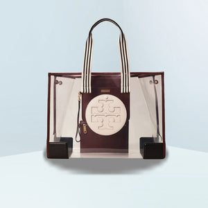 Ella Clear Oversized Tote Shoulder Bag