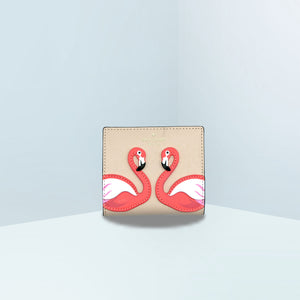 Flamingo Small Zip Bifold Wallet