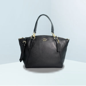 Kelsey Small Satchel In Pebble Leather