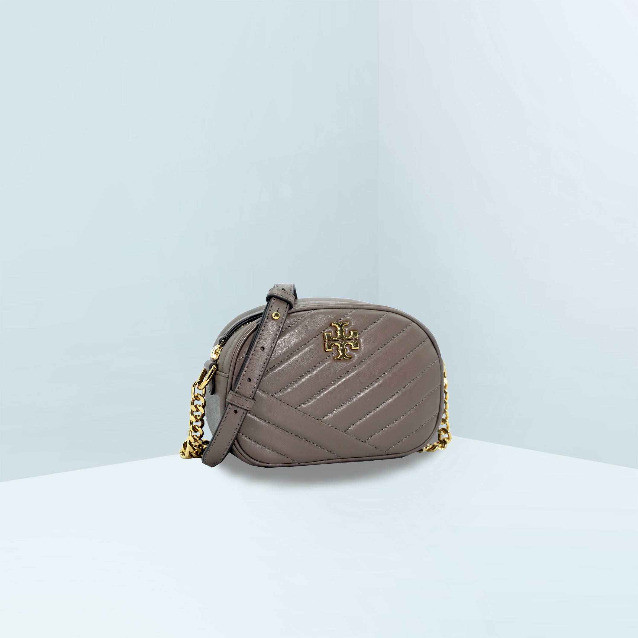 Kira Chevron Small Camera Crossbody Bag